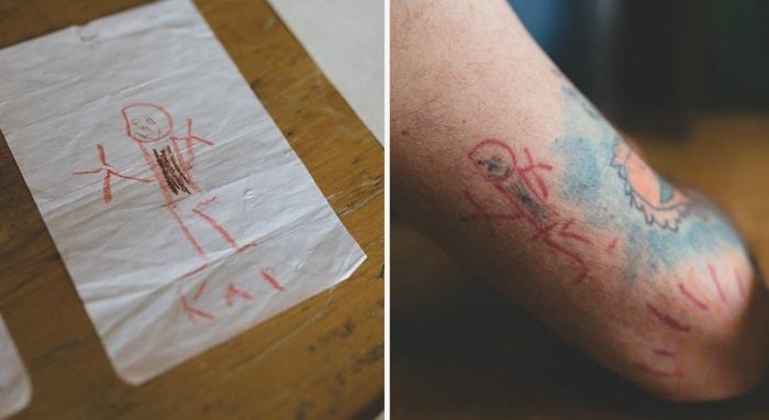 tatuajes de amor muñecos ideales colores