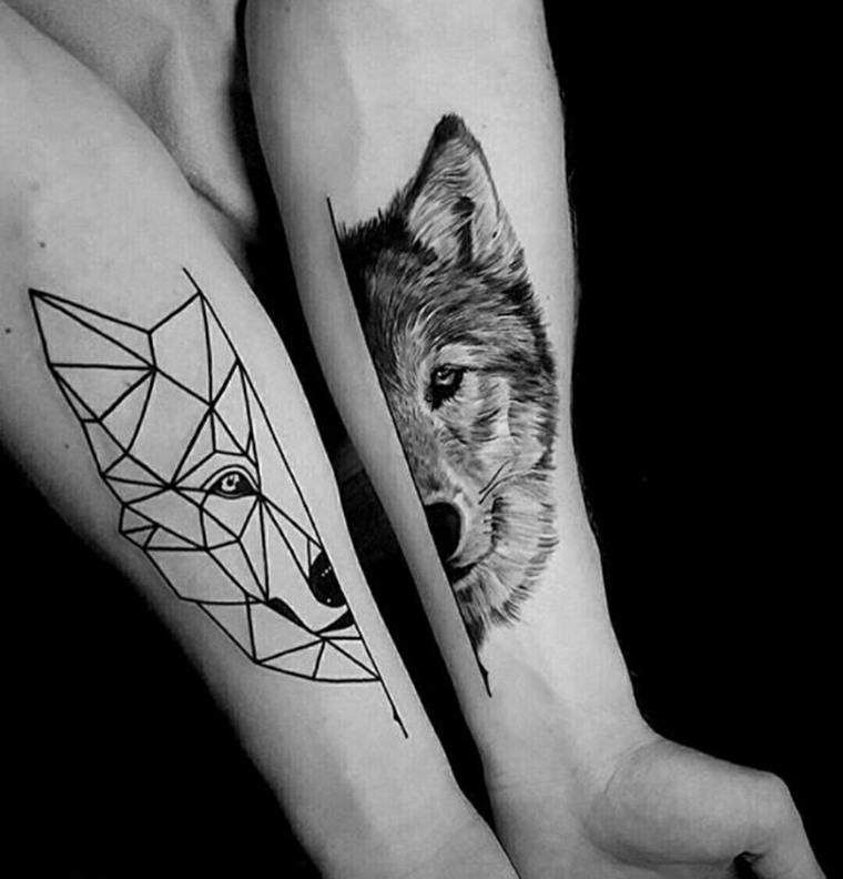 tatuajes-de-lobos-antebrazo-disenos