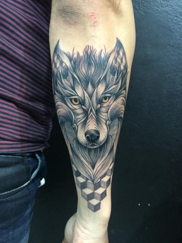 tatuajes-de-lobos-detalles-geometricos-disenos