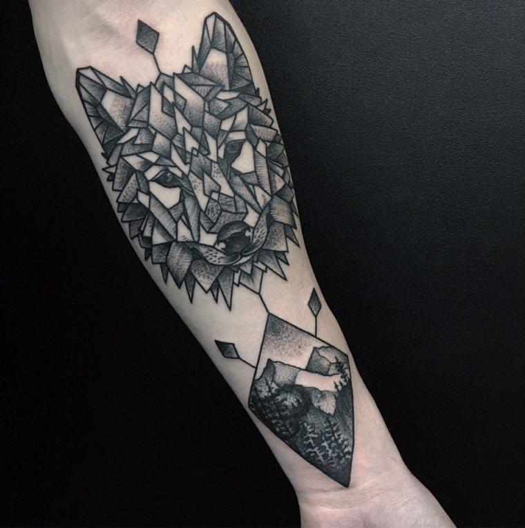 tatuajes-de-lobos-interpretacion-geometrica