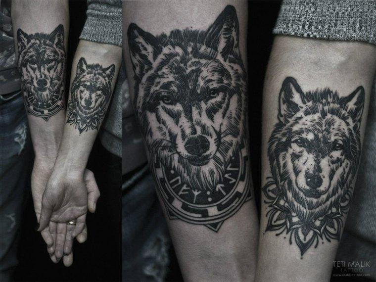 tatuajes-de-lobos-parejas-antebrazo-disenos