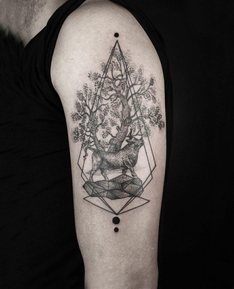 tatuajes diseño simples figuras
