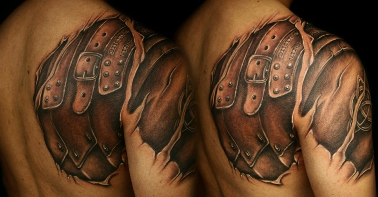 tatuajes-en-3D-hombro-estilo-opciones