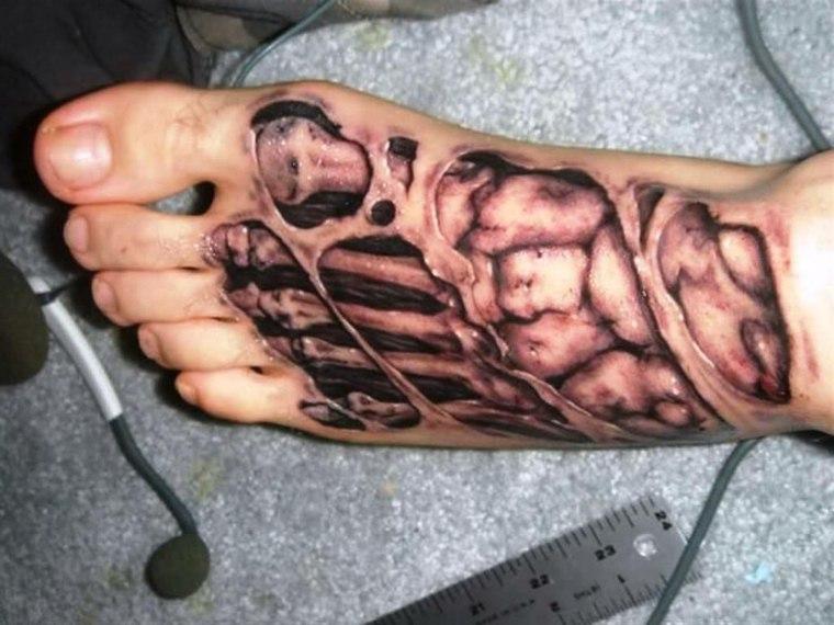 tatuajes-en-3D-opciones-pie-estilo-moderno