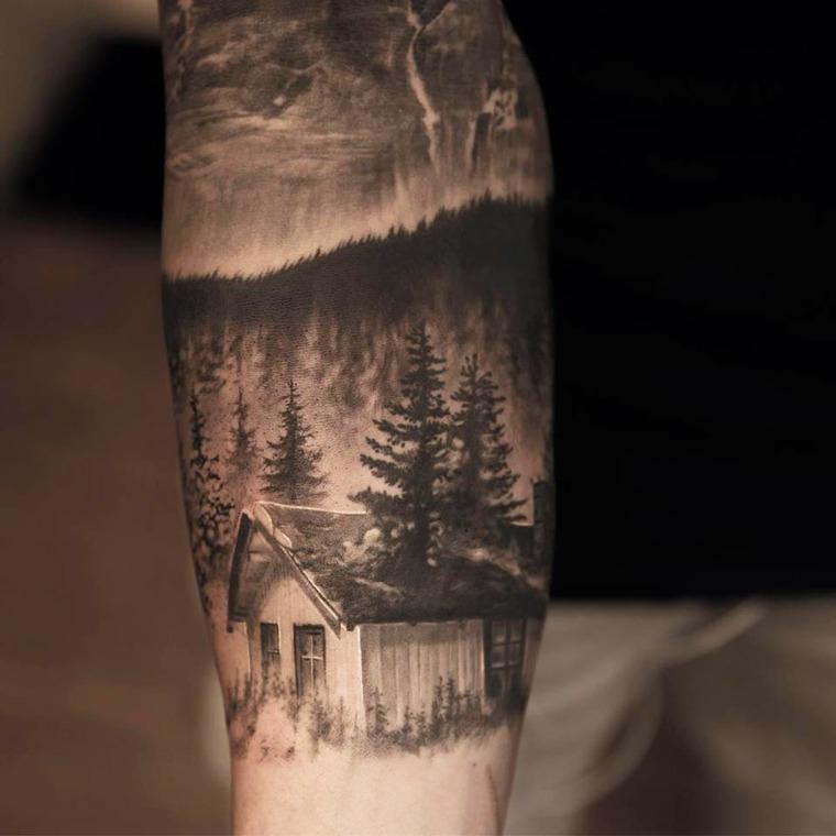 tatuajes en el antebrazo diseno-moderno-Niki-Norberg