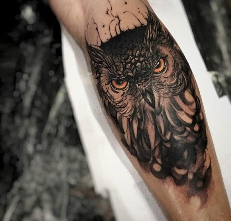 tatuajes-en-el-antebrazo-originales-buho