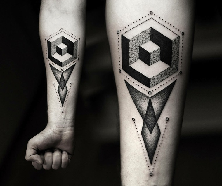 tatuajes-en-el-antebrazo-unicos-3D-opciones