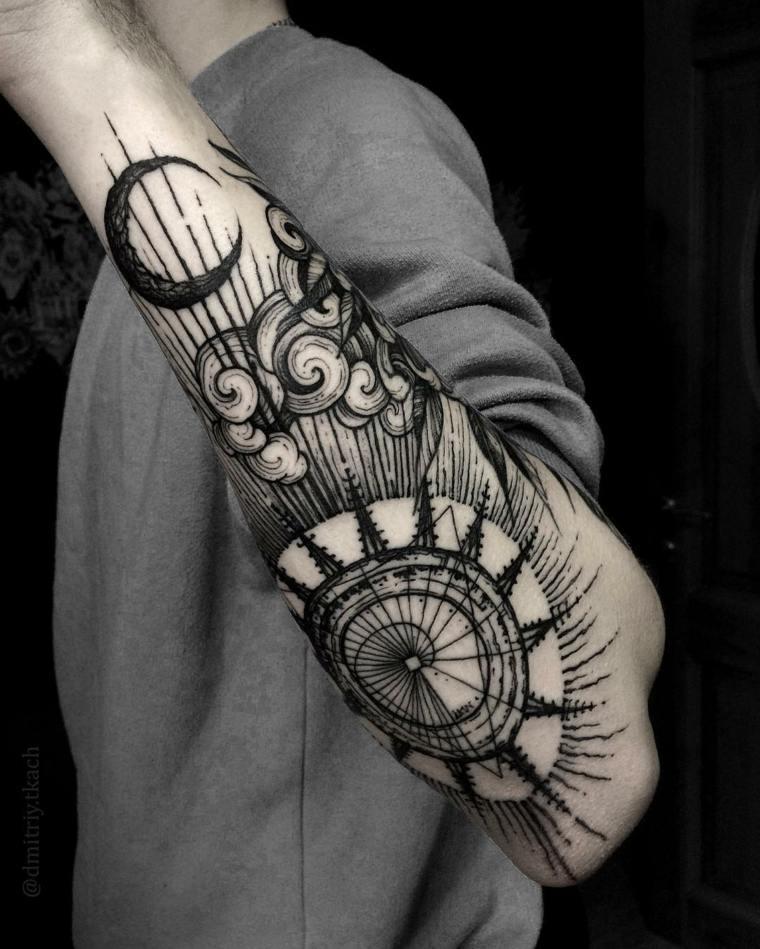 Tatuajes Para Hombres Increibles Diseños Geométricos Para Inspirarse