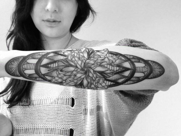 tatuajes originales ideas colores claros