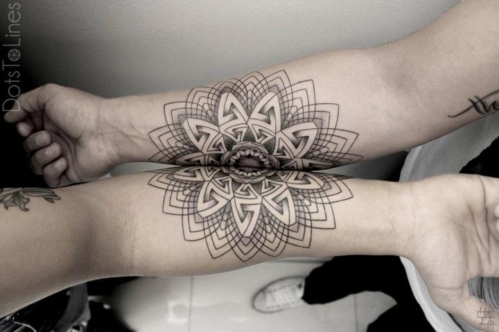 tatuajes originales ideas combinados