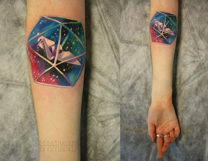 tatuajes originales ideas formas geometricas