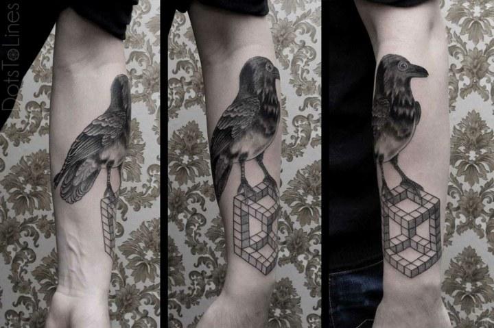 tatuajes originales ideas formas naturales