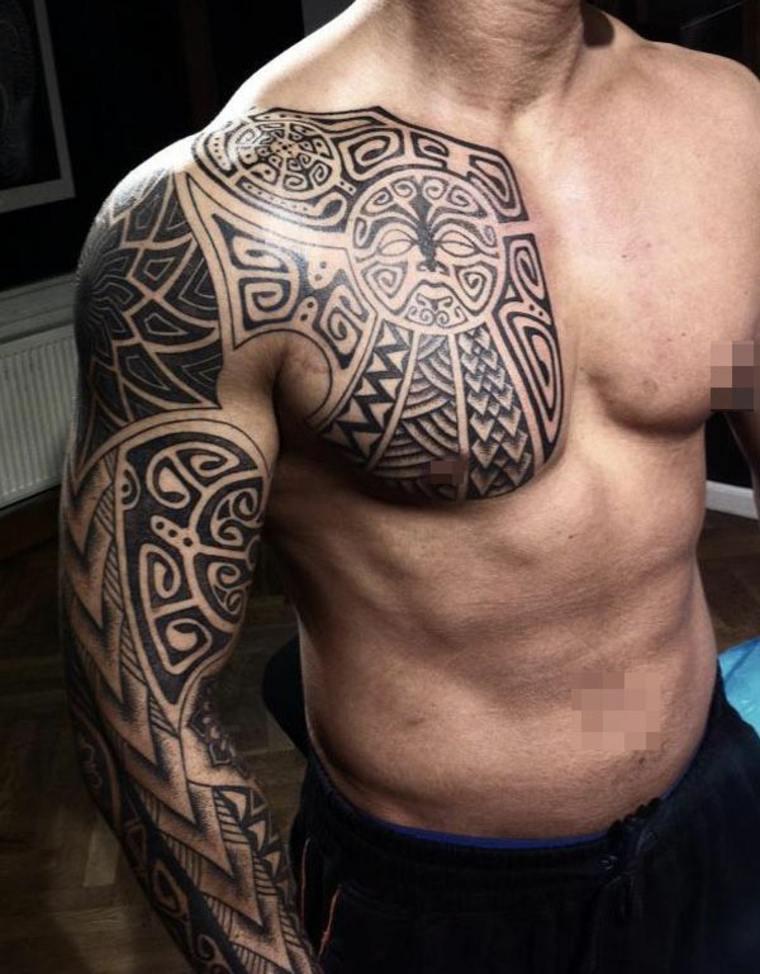 tribales para tatuajes de hombre