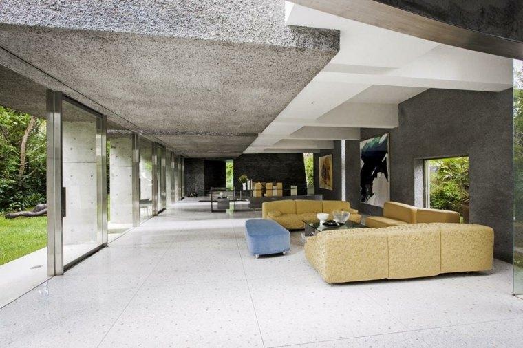 hormigón para interiores y exteriores