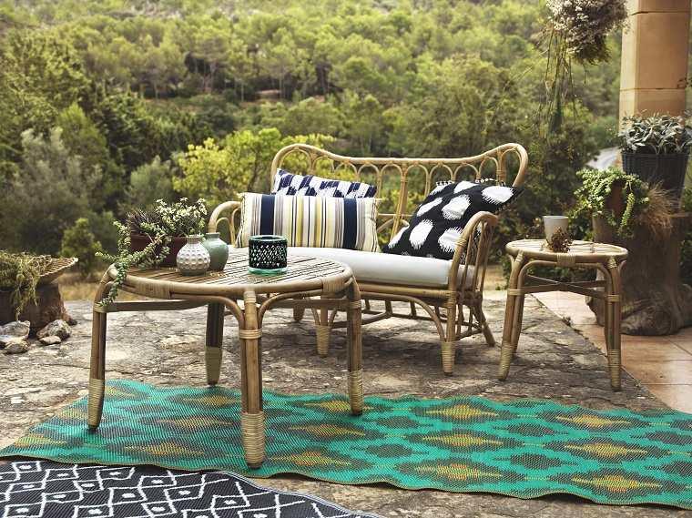terrazas modernas-alfombras-exterior
