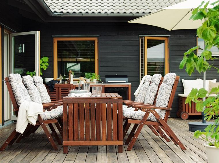 terrazas modernas-comedor-terrza-opciones