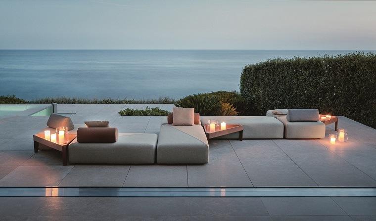 terrazas modernas-sofas-opciones-espacios-amplios
