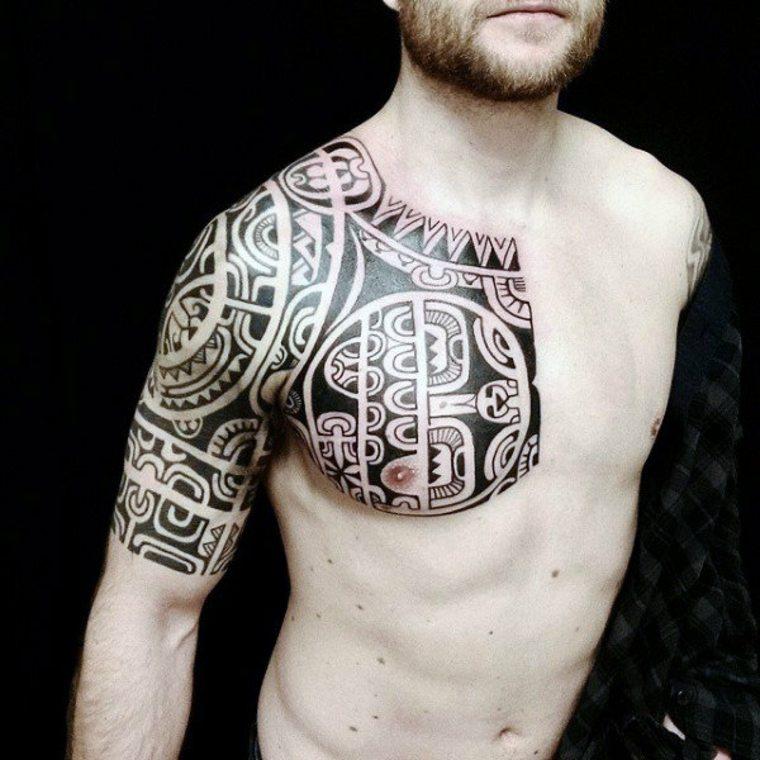 tatuajes con tribales mahoríes