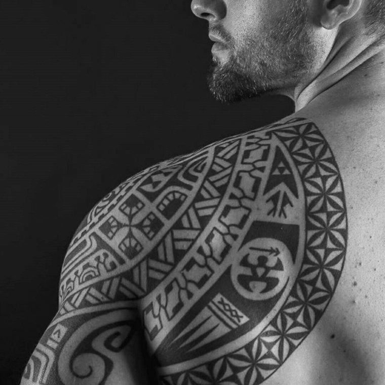 tribales mahoríes para tatuajes