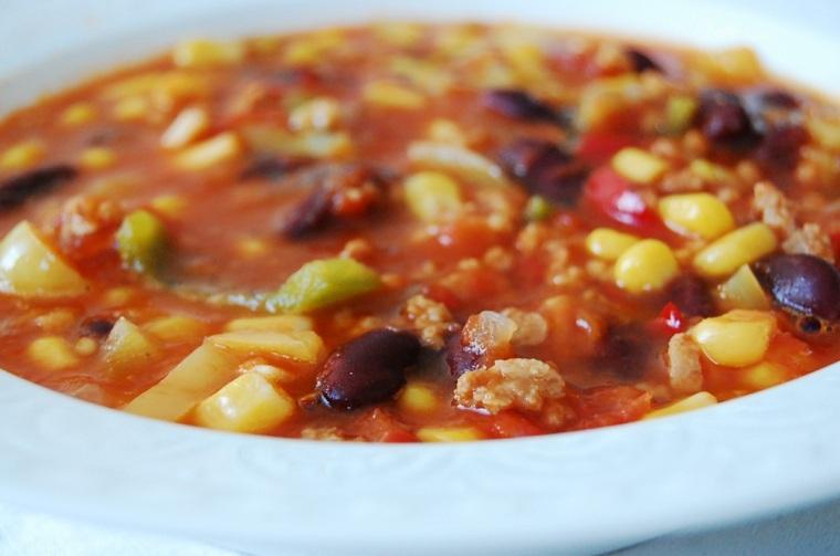 receta de chili con carne