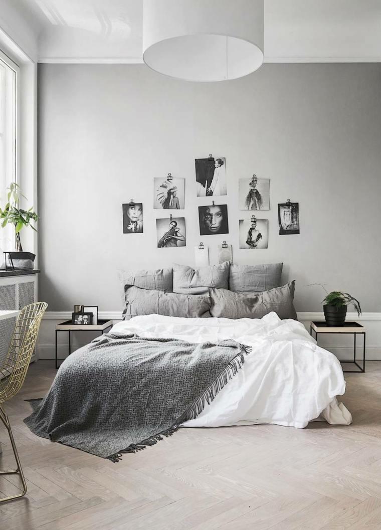 decoración de habitación de estilo minimalista