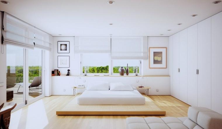 decoración de habitación minimalista