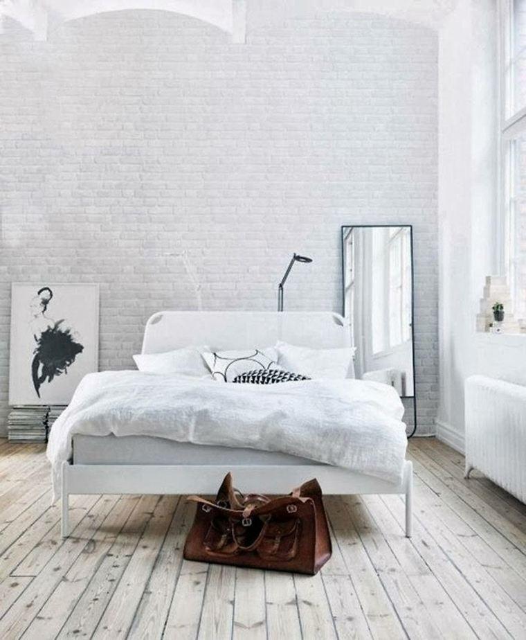 bonita habitación minimalista