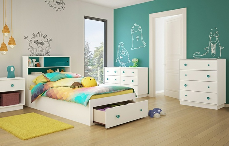Dormitorios para ni os ideas nuevas y originales para - Dormitorio de ninos ...
