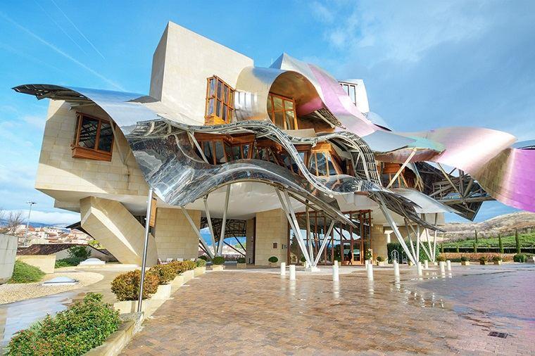 Frank Gehry edificacion moderna