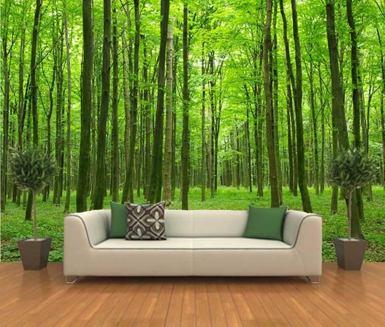 papel de pared bosque