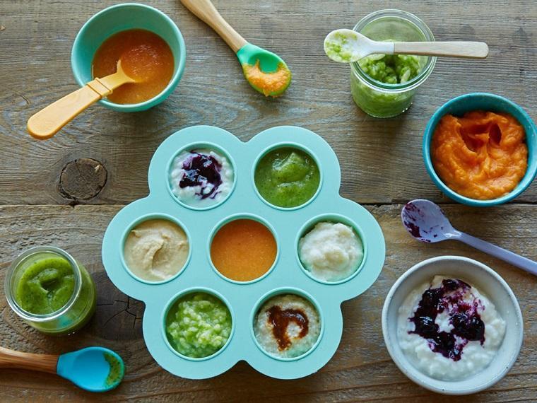 alimentación complementaria-bebes-opciones-pures