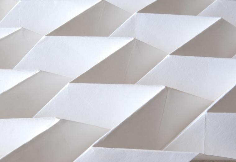 fachadas origami