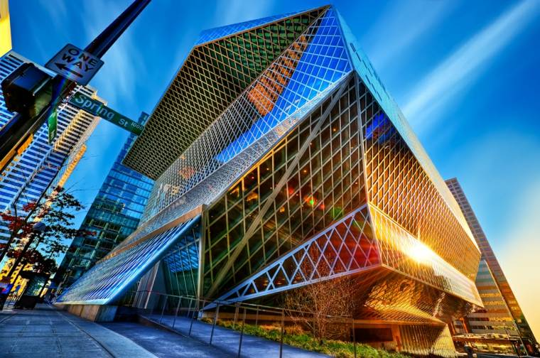 Arquitectura soluciones asombrosas en la tendencia deconstructivista