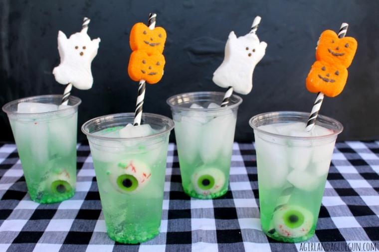 bebida para Halloween