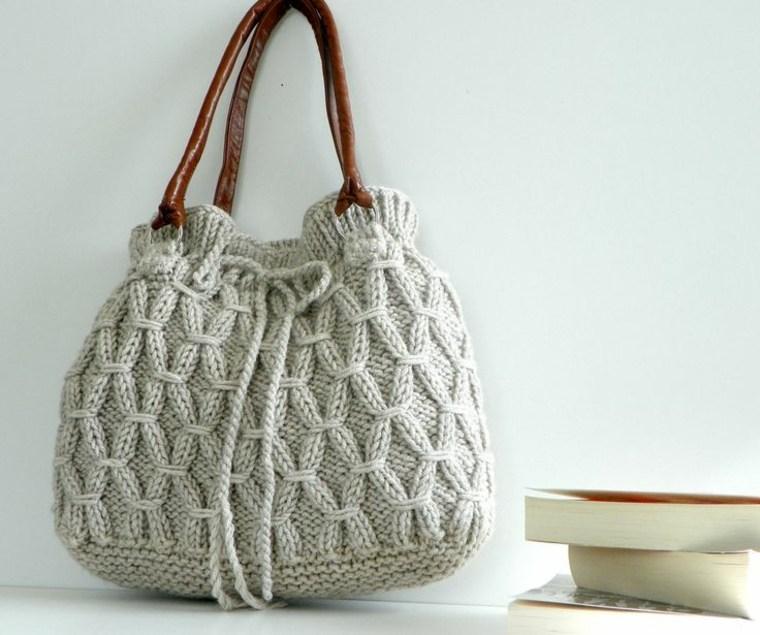ideas para hacer bolsos de trapillo