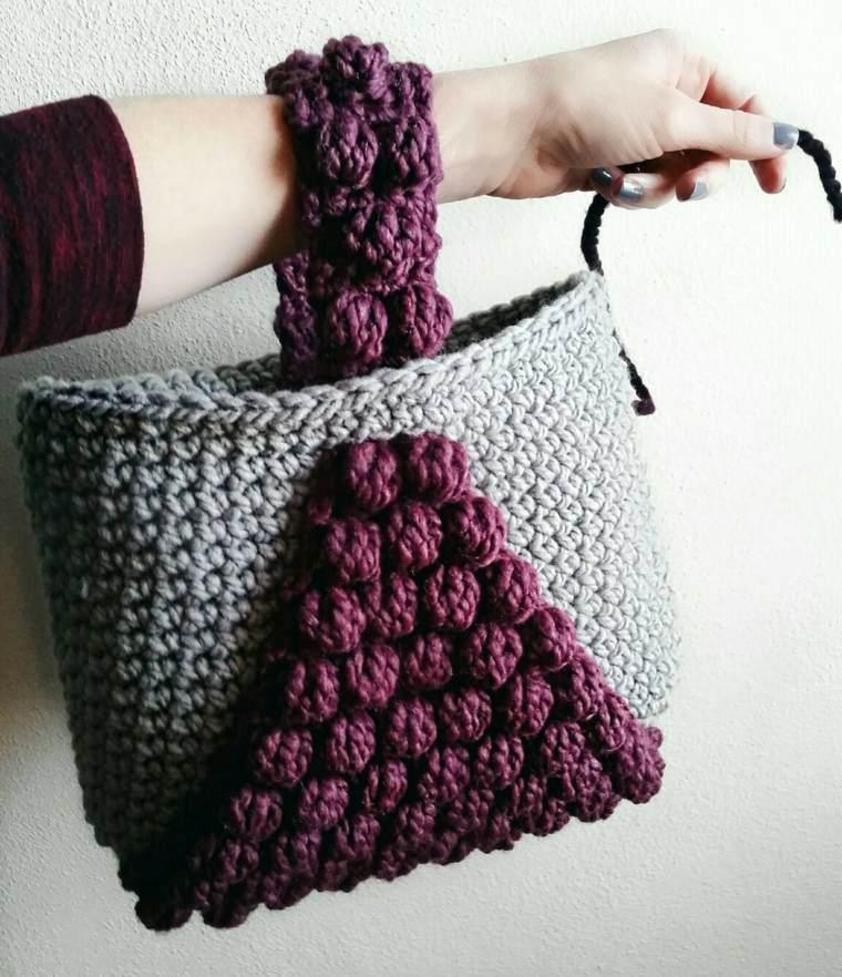 diseños de bolsos de trapillo