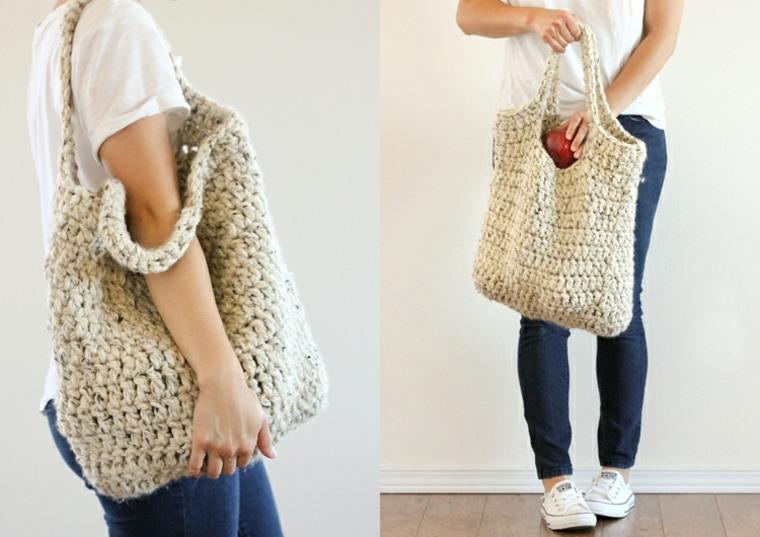 Bolsos de trapillo - diseños y tutoriales para hacer tu propio bolso -