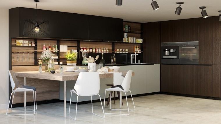 View in gallery estanterías de cocina Estantes abiertos para cocina – ideas  de almacenamiento modernas y funcionales ... cc6c79846f20