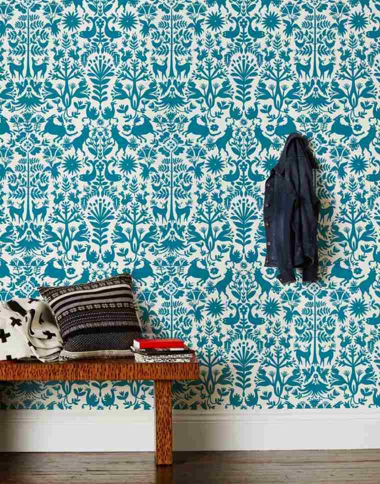 papel de pared con patrones