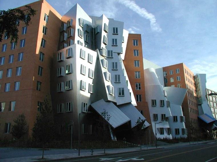 bordes rectos edificios modernos