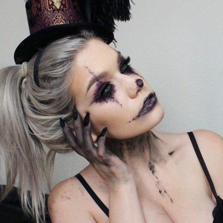 ideas para maquillaje de Halloween