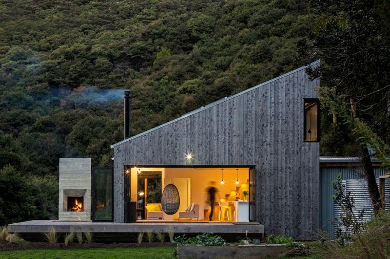 Casa de campo con estilo moderno y funcional por ltd for Casas de campo modernas 2017