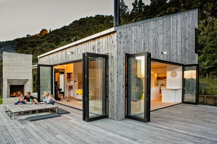 Casa de campo con estilo moderno y funcional por ltd for Casa estilo campo moderno