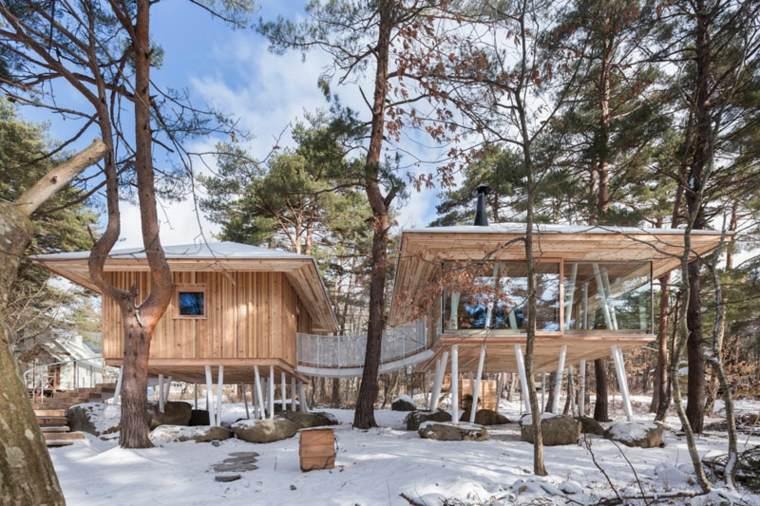 casa de madera diseño especial