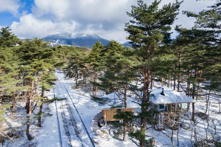 casa de madera diseño ideas campo