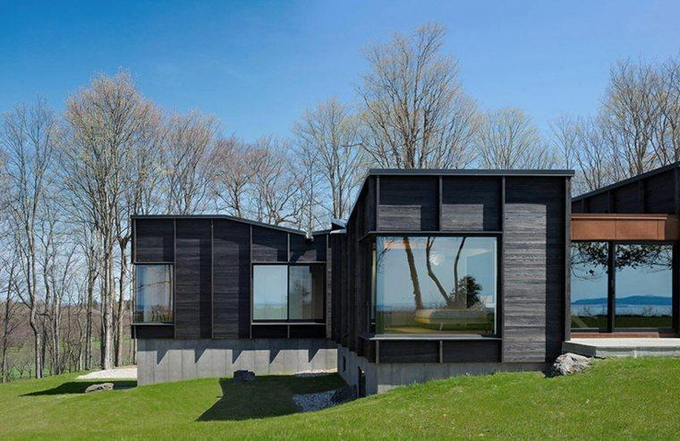 casas modernas ideas exteriores madera