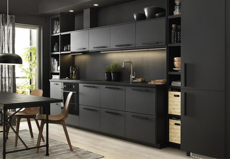catalogo-de-ikea-2018-ideas-area-cocina-negra