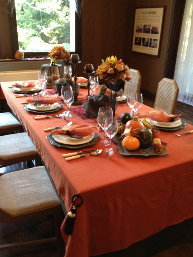 estupenda decoración de mesa