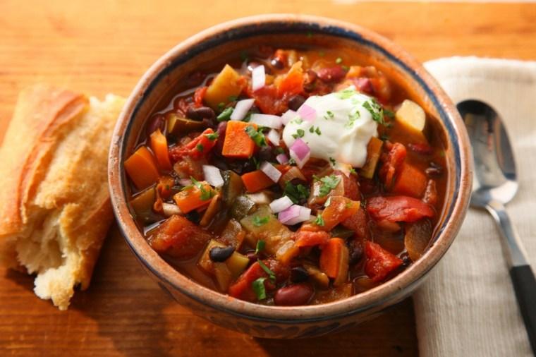 estupenda receta vegana de chili con carne