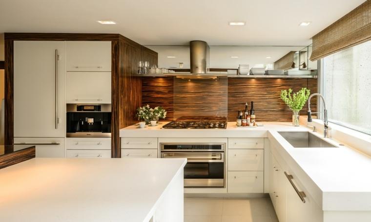 cocina-diseno-bello-opciones-salpicadero-madera